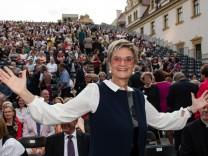 Beginn der Thurn- und Taxis-Schlossfestspiele mit der Oper 'Tosca