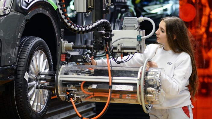Produktion bei Audi