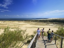 Sanddünen in der Kurischen Nehrung LTU Litauen Nida Nida ehemaliges Ostpreussen Kurische Neh
