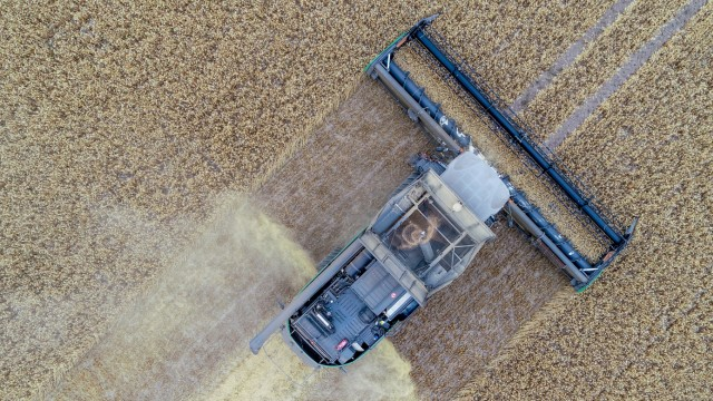Start der Getreide- und Rapsernte