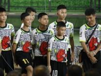 Thailand: Die aus der Höhle geretteten Jugendlichen