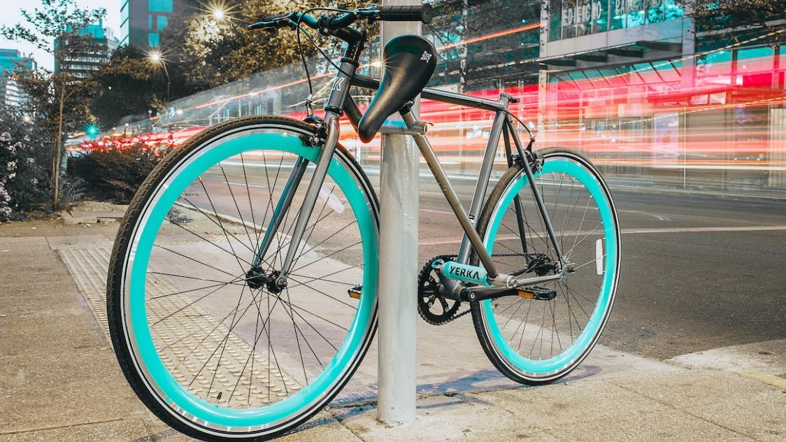 Dieses Fahrrad lässt sich fast nicht stehlen
