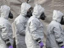 Salisbury: Ermittler könnten Nowitschok-Täter identifiziert haben
