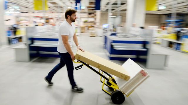 Einkauf bei Ikea
