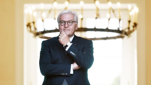 100 Tage Bundespräsident Frank-Walter Steinmeier