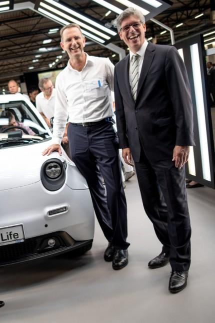 Eröffnung Elektroauto-Werk von e.GO