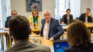 Horst Seehofer bei der Befragung im GBW-Untersuchungsausschuss