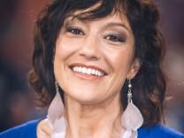 MDR Riverboat Moderatorin und Autorin Miriam Pielhau anläßlich der MDR Talkshow Riverboat am 18; SZ-Magazin