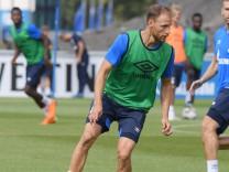 FC Schalke 04: Benedikt Höwedes beim Training 2018