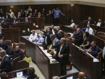 Israel verabschiedet umstrittenes 'Nationalitätsgesetz'