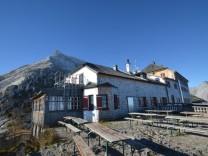 Das Watzmannhaus im Nationalpark Berchtesgaden