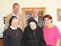 Hoher Geburtstag bei den Franziskanerinnen von Schönbrunn