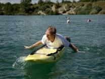 Bruck: Volksschwimmen am Pucher Meer / Wasserwacht