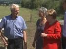 Merkel verspricht Schaffung besserer Bedingungen für Bauern (Vorschaubild)