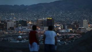 Skyline von El Paso und Ciudad Juarez. Die Grenze zwischen den USA und Mexiko ist in den Mittelpunkt vieler Debatten gerückt.