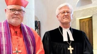 Kardinal Reinhard Marx und EKD-Ratsvorsitzender Heinrich Bedford-Strohm