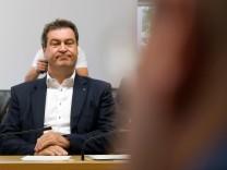 Markus Söder vor dem GBW-Untersuchungsausschuss