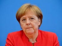 Merkel Pressekonferenz Seehofer Asylstreit