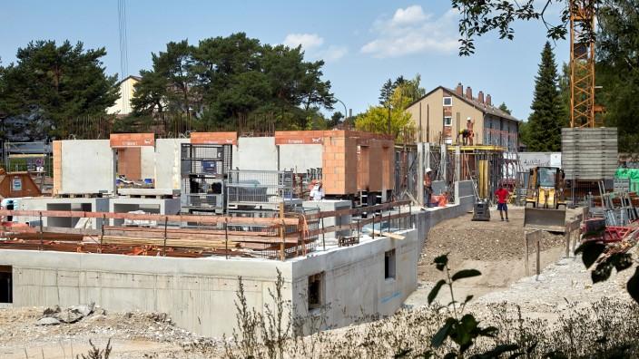 Baustelle Coop-Gelände