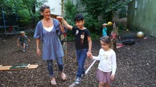 Flüchtlingskind Muhammad ist inzwischen gut in den Kindergarten in Haidhausen integriert.