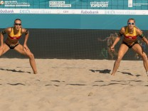 Sport Bilder des Tages European Championships Beach volleyball Beachvolleyball 2018 17 07 2018 Sand