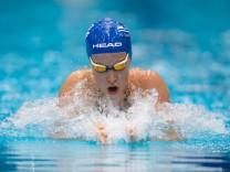 Schwimmen Berlin 19 07 2018 Deutsche Meisterschaften DM Vorlauf Vorläufe 50 m Brust Frauen Damen Jo