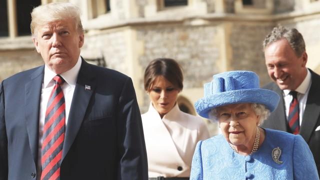 Royals Staatsbesuch