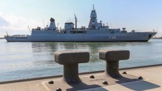 Fregatte 'Sachsen' nach EU-Mission Sophia