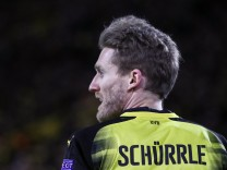 Borussia Dortmund v FC Red Bull Salzburg - UEFA Europa League Round of 16: First Leg; Schürrle