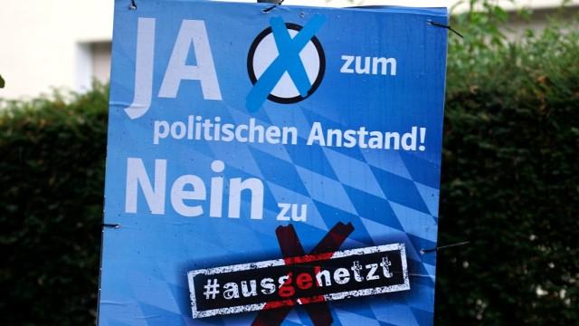 Politik in München #ausgehetzt-Demo in München