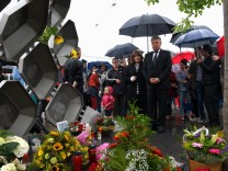 Oberbürgermeister Dieter Reiter (SPD) Gedenkfeier Anschlag OEZ