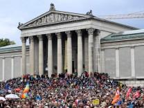 #ausgehetzt-Demo in München