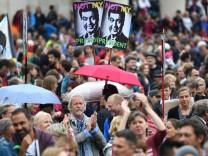 Demonstration #ausgehetzt