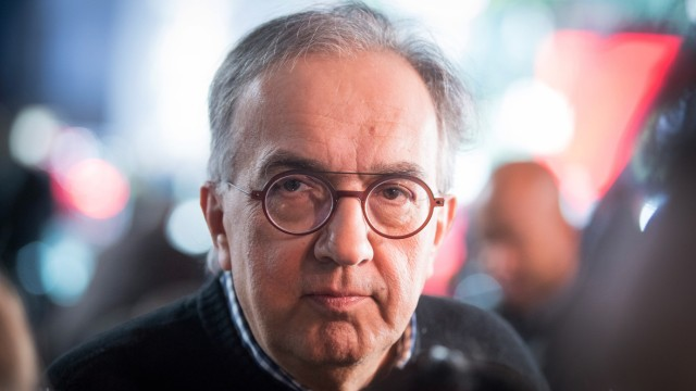 Fiat Chrisler-Vorstand Sergio Marchionne