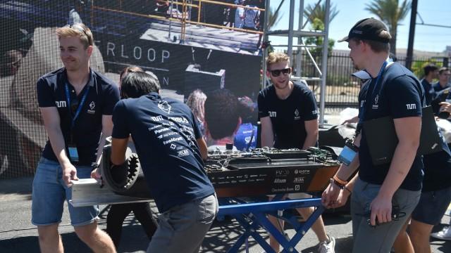 Münchner Studenten beim Hyperloop-Wettbewerb