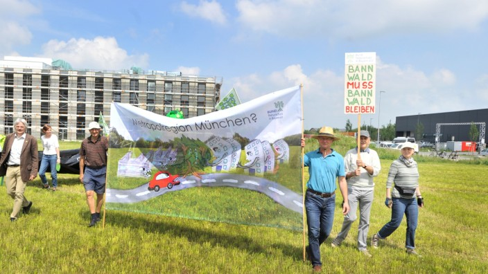 Gilching Gewerbegebiet Bund Naturschutz-Flächennutzung