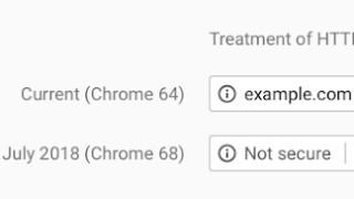 Chrome Kennzeichnet Http Webseiten Als Unsicher Digital