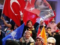 AKP-Anhänger in Frankfurt