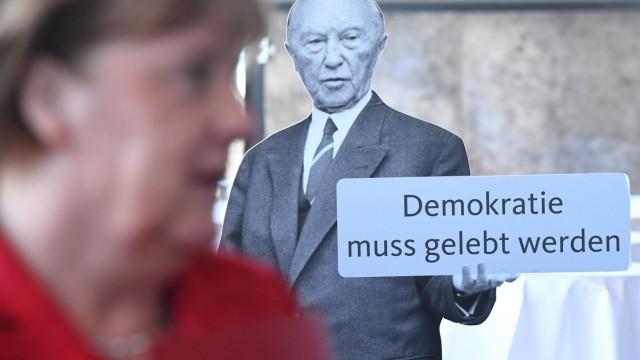 Angela Merkel auf CDU-Landesvertreterversammlung