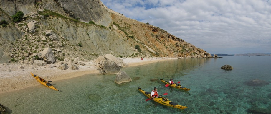 Sea kayak Croatia