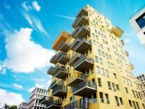Immobilien: Hochhaus in München