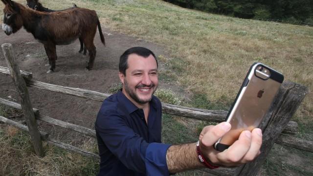 Politik Italien Italiens Matteo Salvini