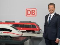 Pressekonferenz Deutsche Bahn zu Halbjahreszahlen