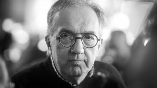Früherer Fiat-Chef Sergio Marchionne ist tot; marchionne