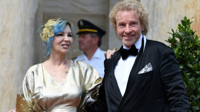 Opening of the Bayreuth Wagner Festival in Bayreuth