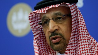 FILE PHOTO: Saudi Energy Minister al-Falih attends a session of the St. Petersburg International Economic Forum