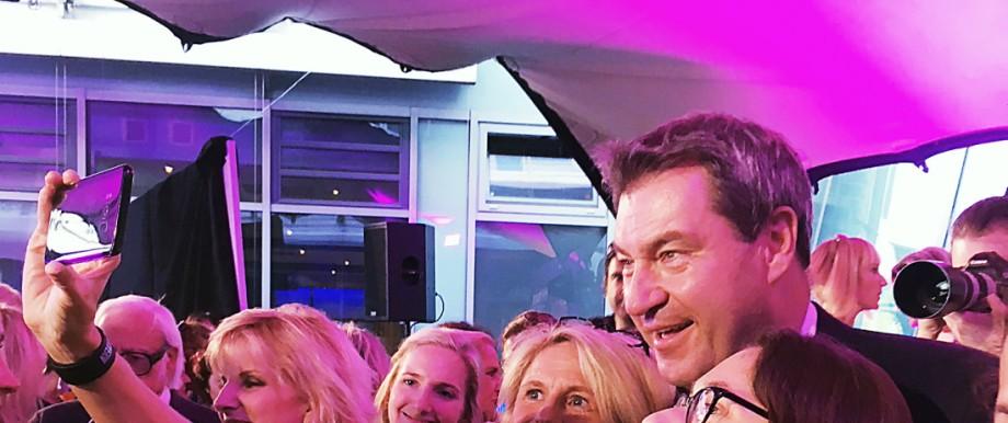 Markus Söder zu Gast bei der Frauen-Union
