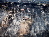 Waldbrände in Griechenland: Das Dorf Mati nach dem Feuer