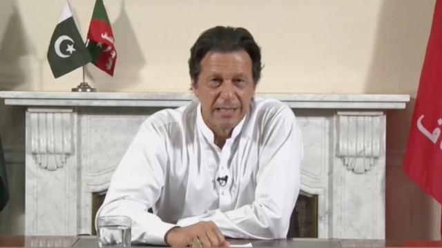 Pakistan: Imran Khan, Vorsitzender der PTI