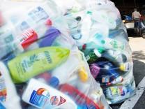 Olching: Plastikmuell im Wertstoffhof